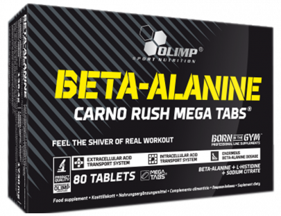Olimp Beta-Alanine Carno Rush Mega (80 таб)
