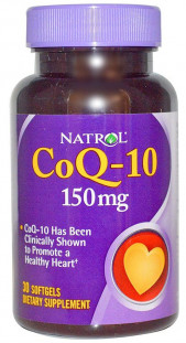 Natrol Co Q-10 150 мг (30 кап)